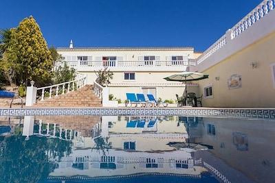 Villa, Heated Private Pool, Sea Views, AirCon, WIFI, BBQ