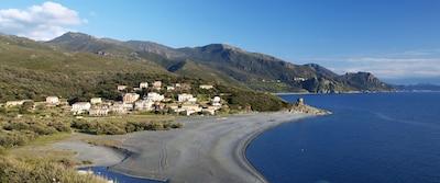 La plage d'Albo