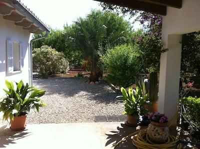 Maison et son jardin