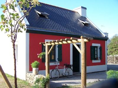 Maison de la Réserve, Groix, Morbihan, Frankreich