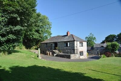 Bryn Cottage and garden
