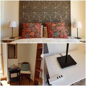 Détails chambre 2 avec chargeur USB - Détails second bedroom