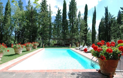 Exclusive Villa in Chianti - Private Pool, Fenced Garden 6000m², Wine and Relax