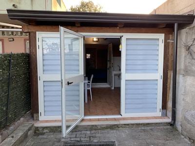 Bahnhof Cirò, Cirò Marina, Kalabrien, Italien