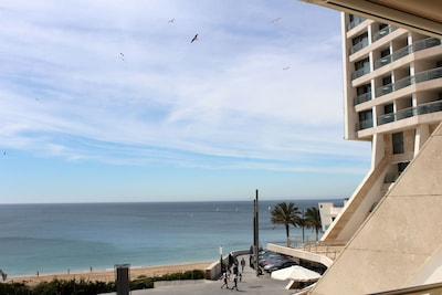 Apartment mit Blick auf den Atlantik, direkt am Strand - Strandhaus
