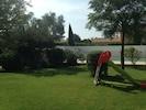 jardin vue piscine