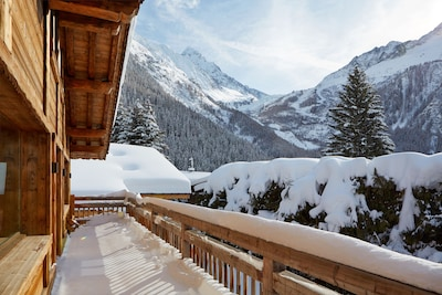 Upper balcony  - Ski Chalet Argentiere - Marmotte Mountain Zenith (2)
