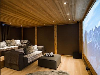 Cinema - Ski Chalet Argentiere - Marmotte Mountain Zenith (2)
