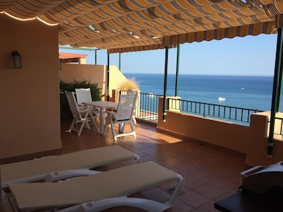 Penthouse at the beach, FREE WIFI, panoramic views, Costa del Sol