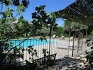 La piscine est sécurisée