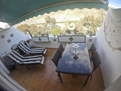 Lovely sunny private terrace