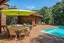 Villa bois route de Palombaggia 8 pers