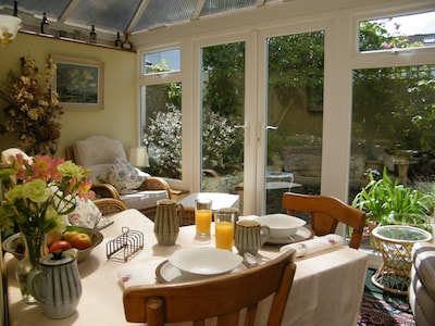 Breakfast in sunny Devon