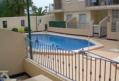 Main pool from apartment