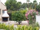 Garden at Villa Luna