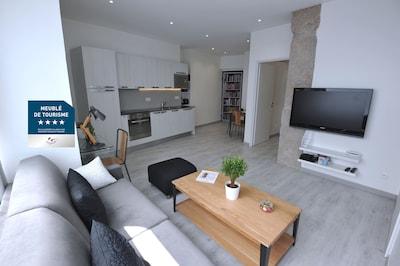 La pièce principale - The living area