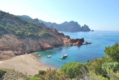 Cala di Tuara, Osani, Corse-du-Sud, France