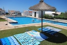 3 depth Pool - includes Toddler pool plus gentle access steps with handrail