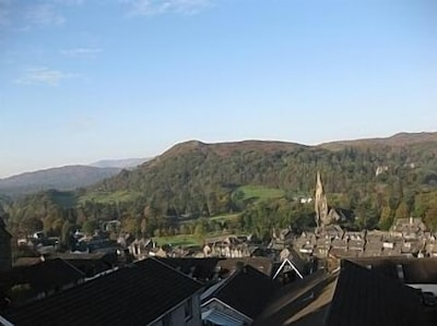 View of Loughrigg from front window