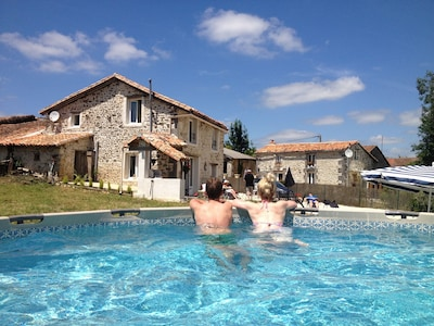 Eymouthiers, Charente, Frankreich