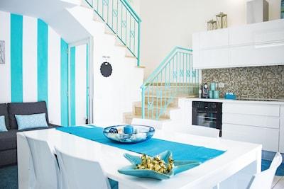 Splendida villetta in elegante residence con piscina  Free aria condizionata