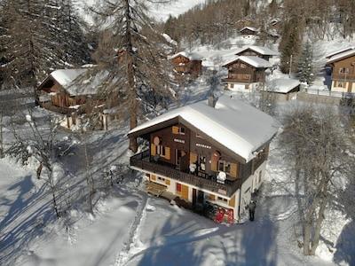 Μονοπάτι Marchenweg Hasenliebe Trail, Bellwald, Valais, Ελβετία
