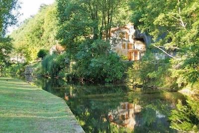 Abbaye de Brantôme, Brantôme en Périgord, Dordogne, France