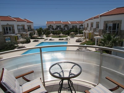 Front balcony - enjoy overlooking the rest of the complex