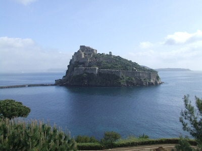 Piazza degli Eroi, Ischia, Campanie, Italie