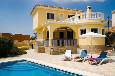 Sun terrace with private pool. approximately 4m x 8m