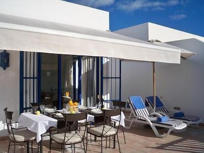 villa playa blanca-Marina Rubicón a 200 metros del mar