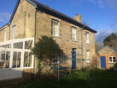 Beautifully restored farmhouse in Mithian a couple of miles from the north coast