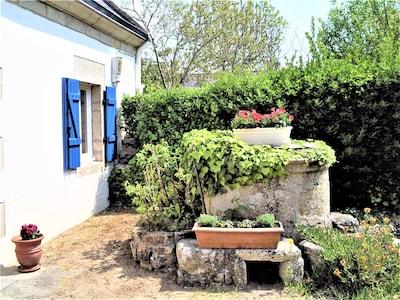 Jardinet devant la maison