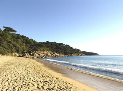 Spiaggia Plage de l'Escalet, Ramatuelle, Var, Francia