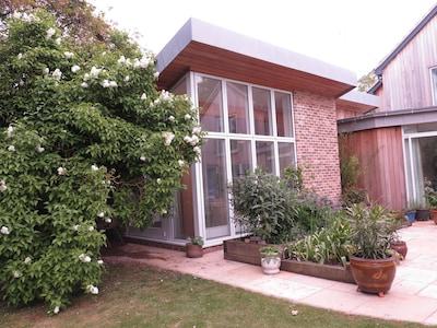 View of Garden Studio from Owners Garden