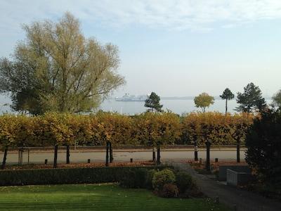 Auch der Herbst hat seine Reize an der See - das Fernglas liegt für Sie bereit!