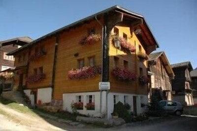 Grafschaft, Goms, Wallis, Schweiz