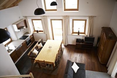 """Wohnzimmer FeWo """"Familienresidenz"""""""