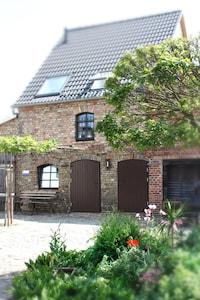Cottage im Fläming - Hofansicht