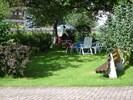 Wohnung mit großem Garten, Grill und Liegewiese