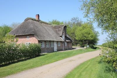 Idyllischen Bauernhaus in UNESCO Naturpark Wattenmeer