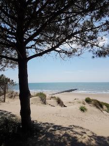 Strand in Grau d'Agde