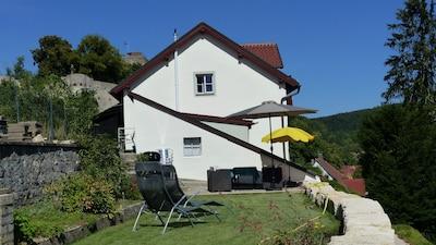 Burg Pappenheim, Pappenheim, Beieren, Duitsland