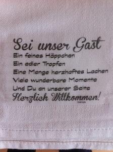 Herzlich willkommen !:)