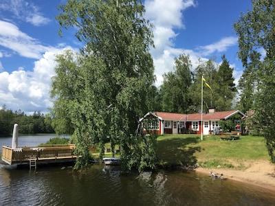 Åsnen National Park, Kronoberg County, Sweden