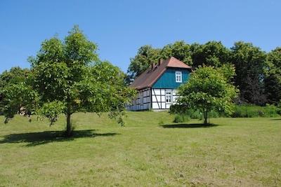 Haus vom Garten aus