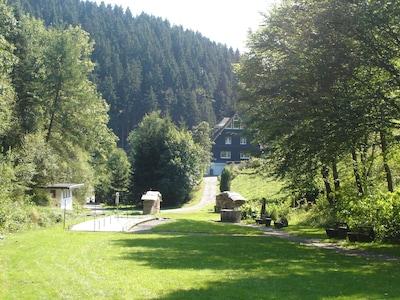 4-Sterne Fewo mit Sauna in wunderschöner Einzellage für bis zu 6 Personen