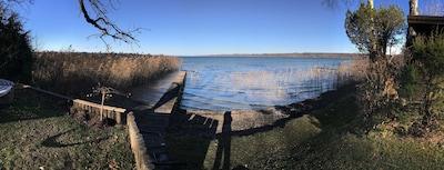 Fantástico lugar para alojarse para un máximo de 8 personas en la orilla sur del lago de Starnberg