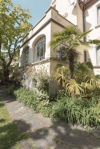 Garten mit Portico