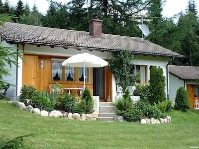 Ferienhaus 'Henri' im Sommer
